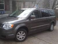 2010 Chrysler Town and Country Touring Minivan This