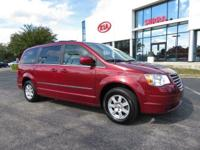 CARFAX One-Owner. Deep Cherry Red Crystal 2010 4D
