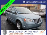 Options:  2010 Chrysler Town & Country Touring|Blue|We