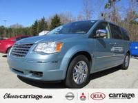Exterior Color: blue, Body: Mini-Van, Fuel: Gasoline,