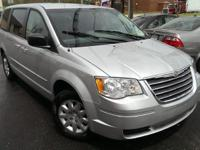 Exterior Color: silver, Body: Minivan, Engine: 3.3L V6