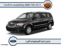 Exterior Color: black, Body: Minivan, Engine: 3.8L V6