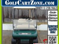 Extremely Clean Gas Golf Cart This golf cart is in