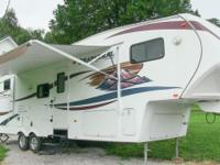 2010 Coachmen Chaparral 269BHS bunkhouse fifth wheel,