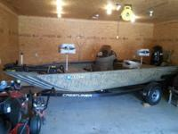 2010 Crestliner 1760 SC Backwater. I have a 2010