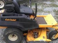 "THIS IS A 2010 CUB CADET ZERO TURN MOWER WITH A 54"" CUT"