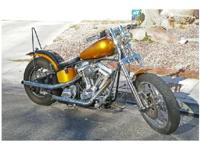 2010 Custom Built Harley Davidson Hardtail- - 2010
