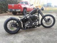 Here is a brand-new custom constructed chopper. its got