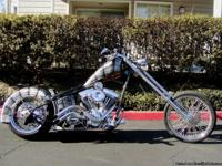 2010 Custom Built Motorcycles Chopper. 2450 Miles. This