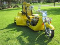 Custom Trike, This amazing one-of-a-kind vehicle is