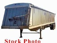 Description Year: 2010 48 Foot 3-axle grain trailer