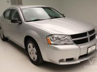 This 2010 Dodge Avenger SXT Sedan FWD with only 75,137
