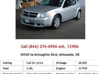 This outstanding example of a 2010 Dodge Avenger SXT is