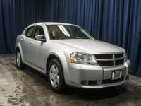 Clean Carfax Sedan with Automatic Transmission!