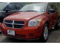 This 2010 Dodge Caliber  has a L4, 2.0L; DOHC 16V high