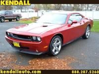 The 5.7L V8 in the 2010 Dodge Challenger R/T offers 372