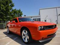 THIS 2010 DODGE CHALLENGER R-T JUST CAME IN. THIS