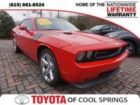 2010 Dodge Challenger R/T RWD Tremec 6-Speed Manual Red