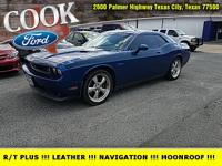 B5 Blue Pearlcoat 2010 Dodge Challenger R/T RWD 5-Speed