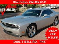 JUST ARRIVED ** HOT CHALLENGER R/T ** ONLY 29K MILES !!