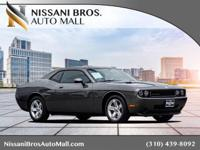 CARFAX One-Owner. Gray 2010 Dodge Challenger SE RWD