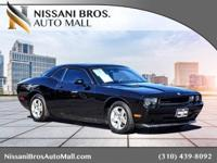 Black 2010 Dodge Challenger SE RWD 5-Speed Automatic