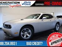 Challenger SE, 2D Coupe, and 2010 Dodge Challenger. GPS