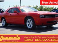 Recent Arrival! This 2010 Dodge Challenger SE in Torred