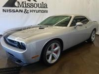 The Challenger has a clean CARFAX vehicle history