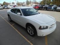 2010Dodge Charger, 4dr Sedan, White w/ Gray Cloth, 5.7L