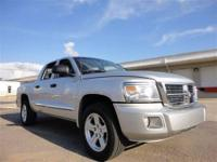 THIS 2010 DODGE DAKOTA CREW CAB JUST CAME IN. THIS