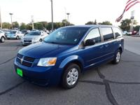 Deep Water Blue Pearl 2010 Dodge Grand Caravan SE FWD