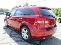 Options:  2010 Dodge Journey R/T|Inferno Red Crystal
