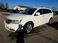 Options:  2010 Dodge Journey R/T|White|New Price! **3Rd
