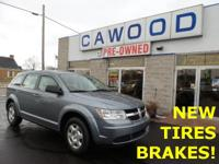 Options:  2010 Dodge Journey Se|Silver|New Tires!|New
