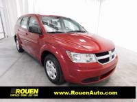 CARFAX One-Owner. Inferno Red Crystal Pearlcoat 2010