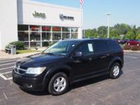 This black 2010 Dodge Journey SE has everything you