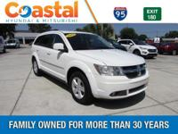 This 2010 Dodge Journey SXT in White features: FWD