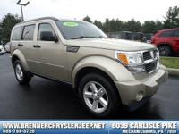 Come see this 2010 Dodge Nitro SE. Its Automatic