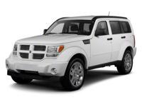 Options:  2010 Dodge Nitro Sxt|Black/|V6 3.7L