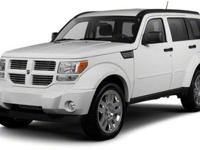 2010 Dodge Nitro SXT For Sale.Features:Four Wheel