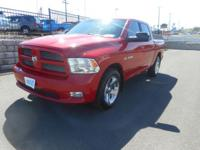 4DR. Auto. 5.7L HEMI. Laramie Package. Keyless Remote
