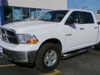 This 2010 Dodge Ram 1500 SLT 4WD CNG Bi-Fuel comes with