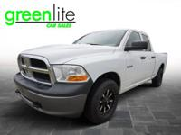 This 2010 Dodge RamPickup 4x4 Quad Cab is still the