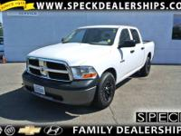 This 2010 Dodge Ram 1500 is equipped with automatic