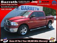 Options Included: Big Horn Regional Pkg, Remote Start &