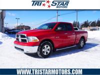 Exterior Color: flame red clearcoat, Body: Crew Cab