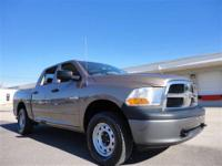 THIS 2010 DODGE RAM 1500 ST JUST CAME IN. THIS 4X4 RAM