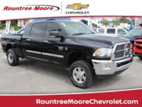 CARFAX One-Owner. Black Clearcoat 2010 Dodge Ram 2500