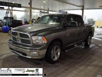 Gray 2010 Dodge Ram 1500 Big Horn RWD 5-Speed Automatic